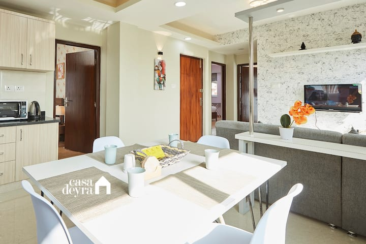 Hidden pearl @Jhamel 3BHK apartment by Casa Deyra