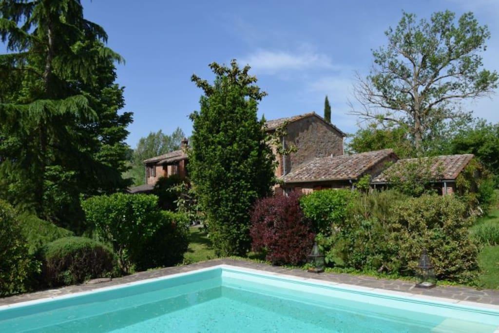 Le vignacce bella casa di campagna case in affitto a for Planimetrie della casa di campagna francese