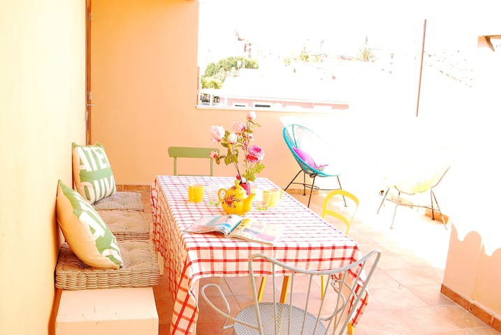 Charming 2 bedroom apartment with rooftop terrace - Palma - Apartamento