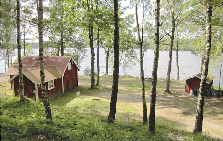 Holiday cottage with 2 bedrooms on 50 m² in Hyltebruk