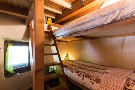 Gîte Farenc, chambre des voyageurs - Glandage