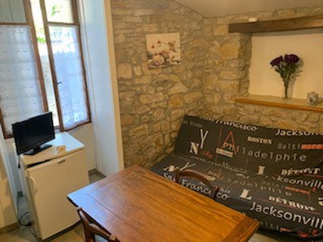 Appartement de 21m² au coeur du village de Salavas