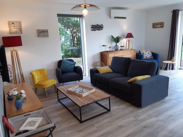 """Maison de vacances """"TI JANIG"""" à 250 m de la mer"""