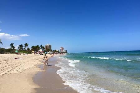 Bright & modern beach condo - Fort Lauderdale - Wohnung