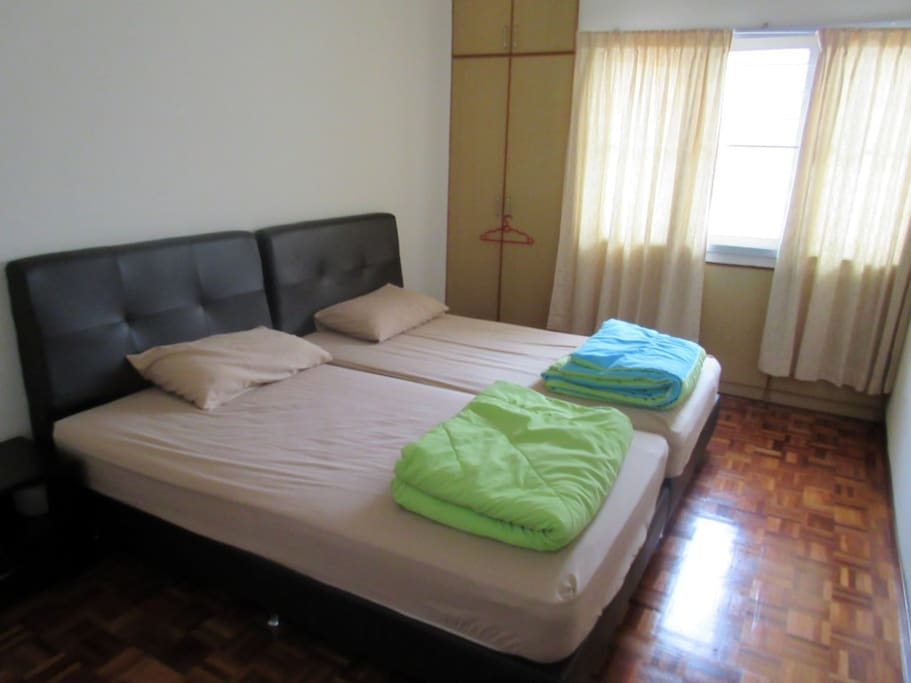 Spacious and fully Air-conditioned Bedrooms