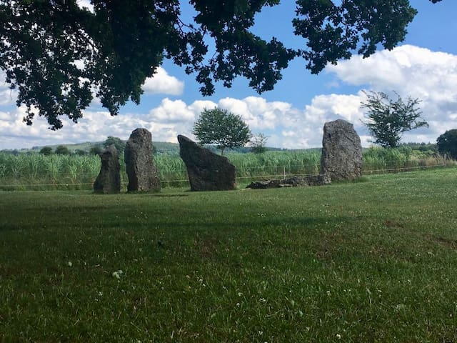 Menhirs of Weris