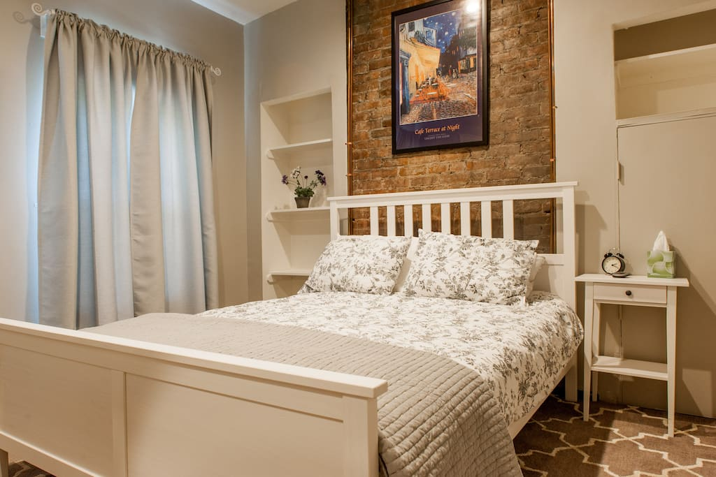 Serene Bedroom for escaping the hectic city environment