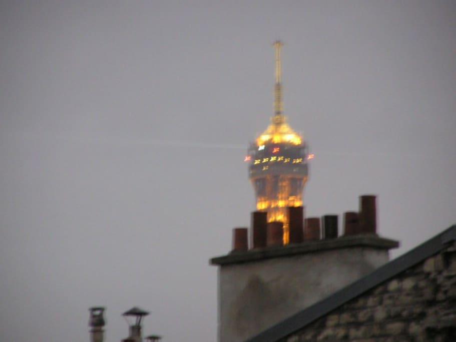 vue de la fenêtre - viewed from flat
