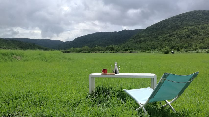 獨享大草原,野溪的獨棟小屋-包棟-樂逃園