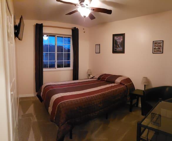 Bedroom 2; queen bed, TV/DVD