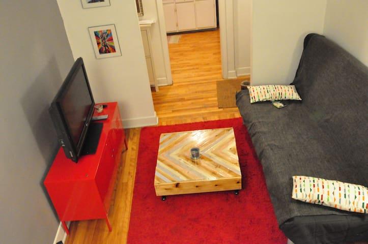 Bel appartement cozy sur le Plateau - Montréal - Apartment