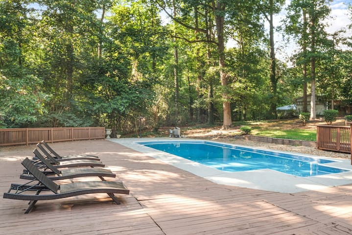 Atlanta - Spacious 4BDR, Sleep 12, Pool
