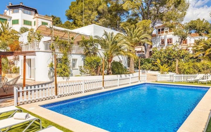 En Palma magnifica Villa Bellver zona residencial