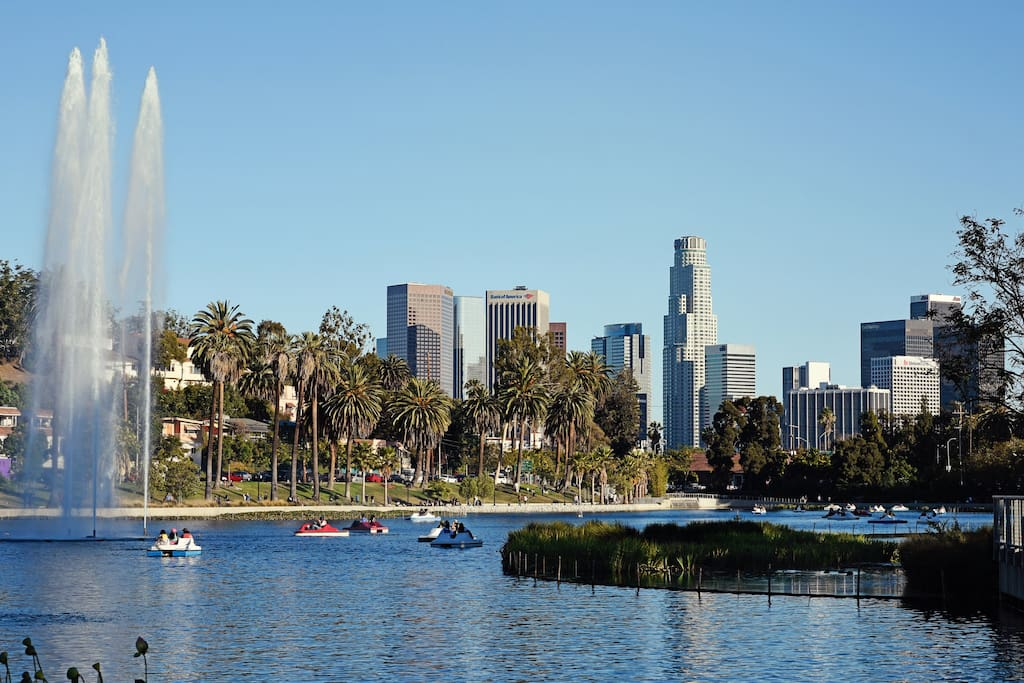 Echo Park Lake is just 2 minutes away, and DTLA is a 20-minute walk away.