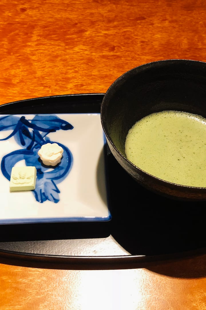 Macha and Japanese sweets