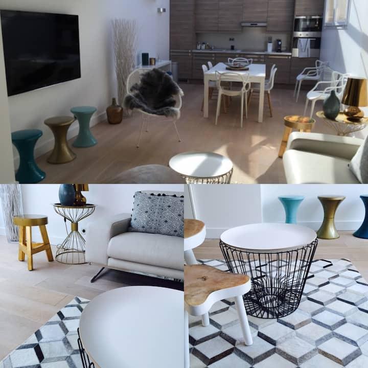 Deauville  centre Maison type loft  Tout à pied