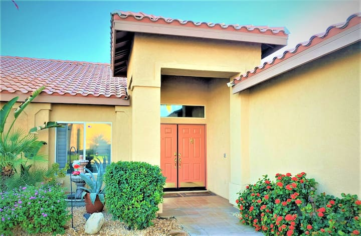 Vacation-Perfect Desert Pool Home | Shops/Tennis