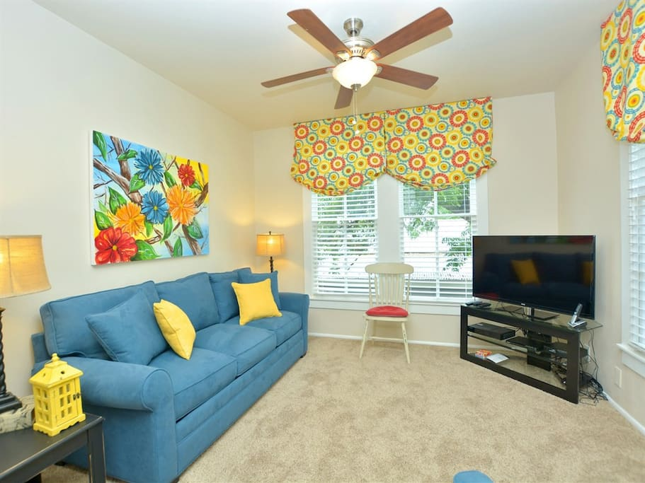 River Town Retreat Unit A-Living Room