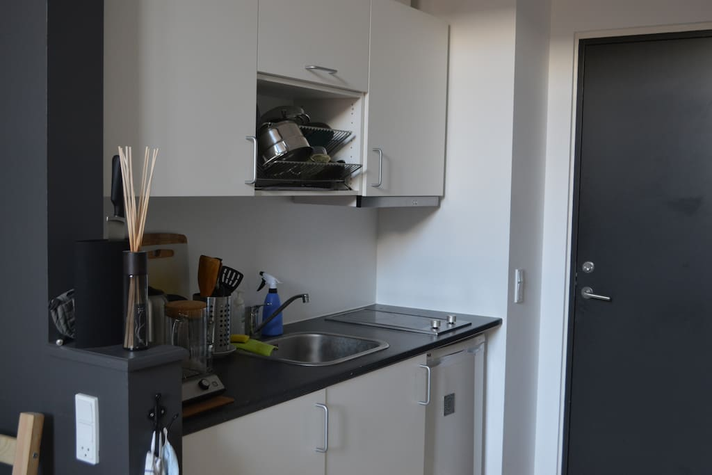 Cosy kitchen.
