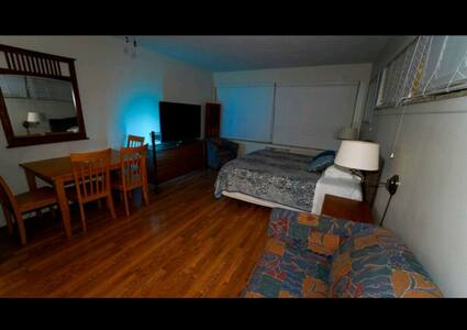 King bed, Sofa bed, Large screen TV, dining room table... Cold A/C