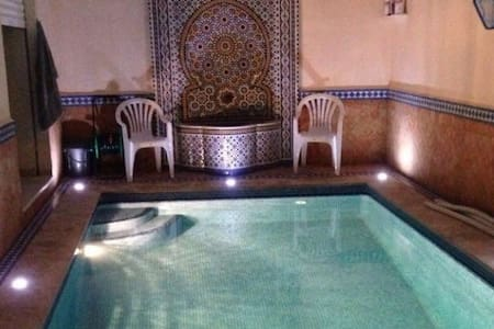 New Villa with private pool, walking beach - Safi