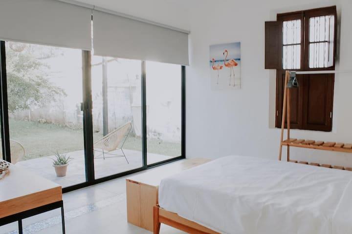 Habitación 2 Jardín/ Garden Bedroom 2
