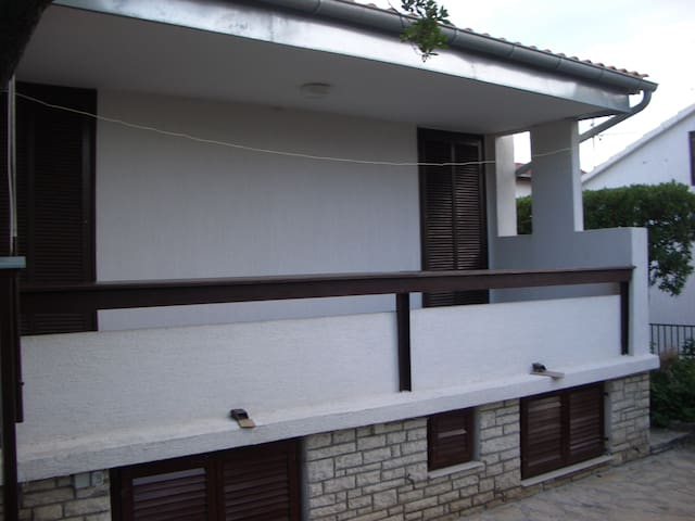 Terrace side of the house