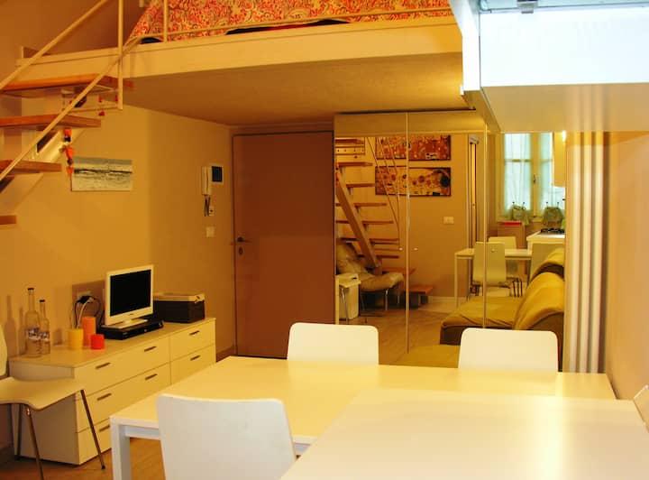 Petite Maison luxury studio town center Sanremo