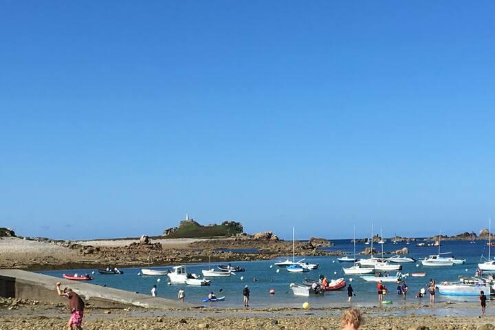 Un jardin sur mer en Bretagne