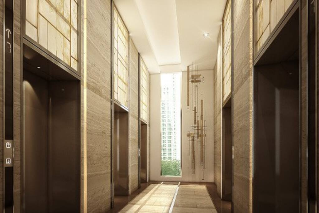 Modern security elevators