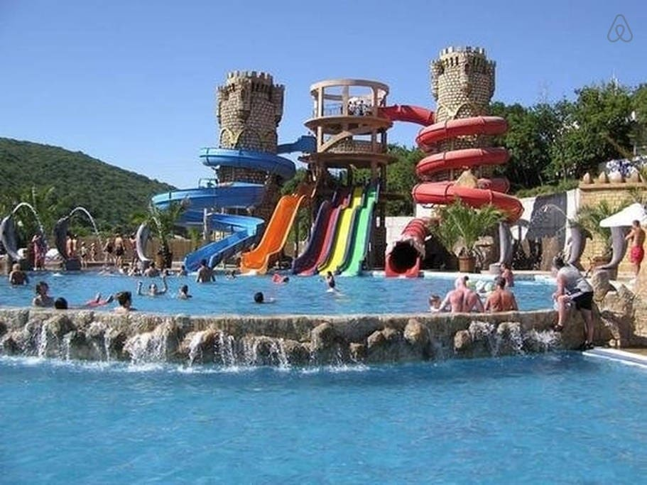 amazing aquapark for children and adults