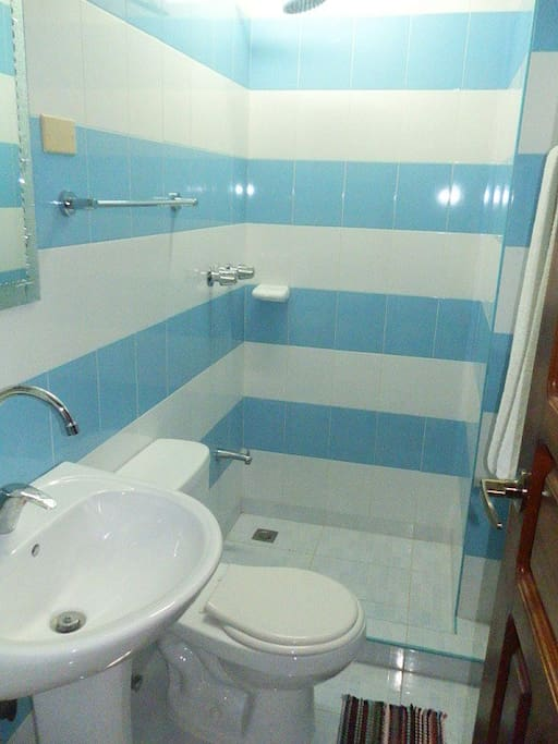 Blue Bathroom, #2