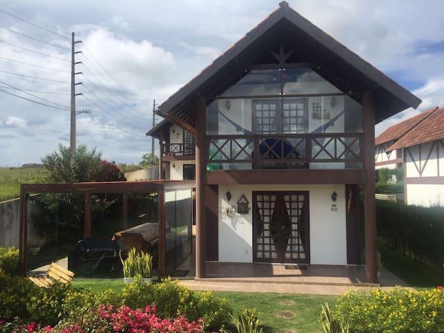 Chalé no Cond. Serra Nevada - Bananeiras