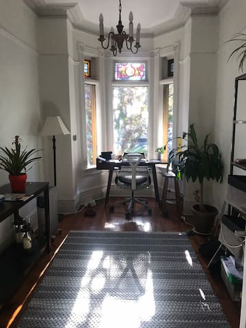 Cosy appartment with garden in townhouse