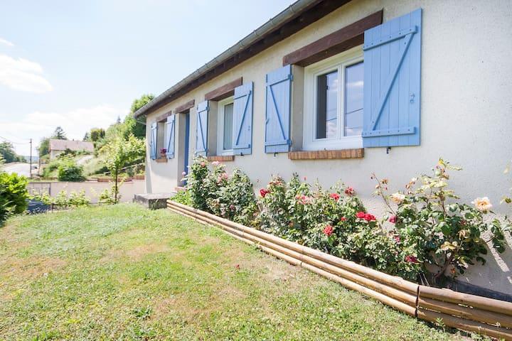 Bel espace tout près de Giverny, du musée Monet - Sainte-Geneviève-lès-Gasny - Bed & Breakfast
