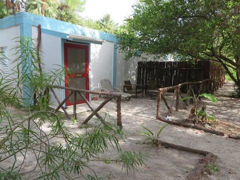 Tropical jungle experience in Maya Beach