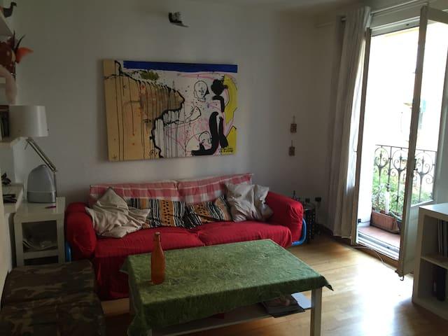 QUIET ROOM 2 PER, GOOD AREA - Madrid - House