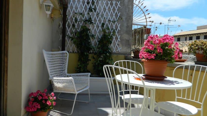 Ortigia house with private terrace - Syrakuzy - Dom