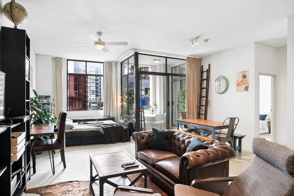 Vintage inspired decor in surry hills apartments for for South hill by vintage apartments