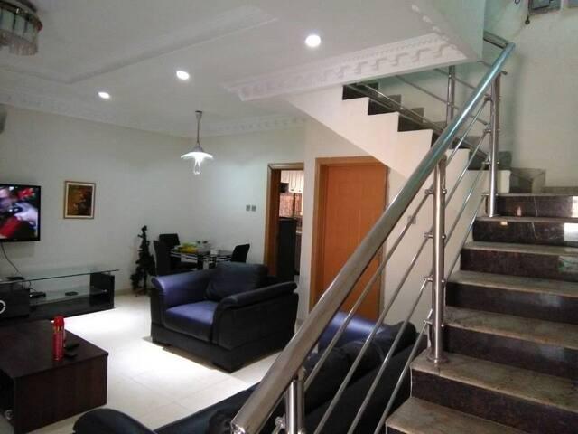 Nollywood Super Furnished 4 Bedroom Terrace Duplex