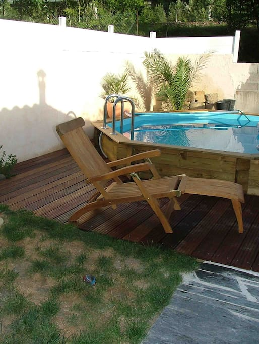 Maison atypique avec piscine pour 4 maisons louer for Piscine lormont
