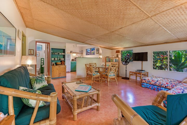 Menehune Cottage, walk to beach! - Paia - Dom