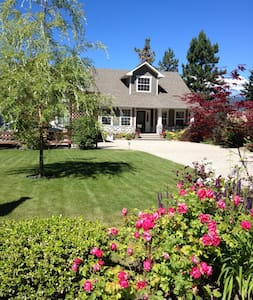 """""""Inn the Vine"""", quiet home with lovely lake view! - Lake Country - Casa"""