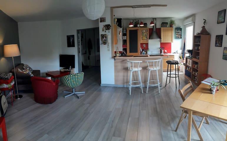 Bel appartement proche gare et centre-ville - Grenoble - Leilighet