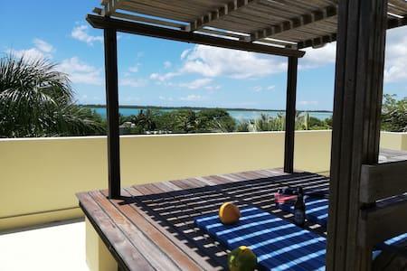 Studio 2 Coco canopy Sea views to a desert island
