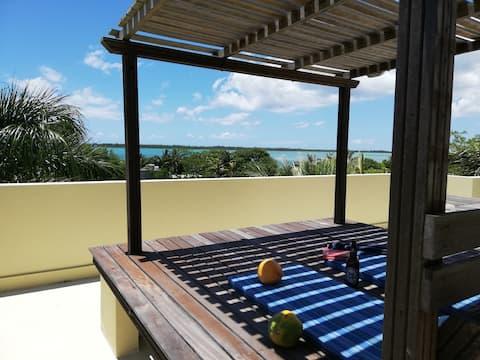 Unité privée 2 Vue sur la mer de Coco sur une île déserte