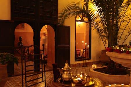Chambre Sarah Riad dar Tayib - Marrakech