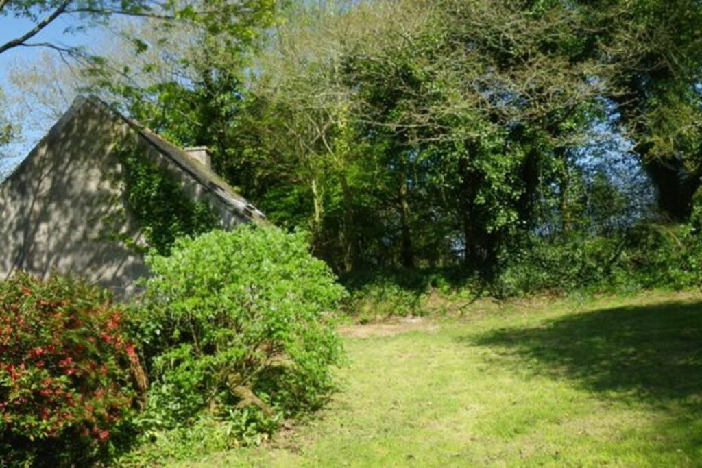 700 m² de jardin