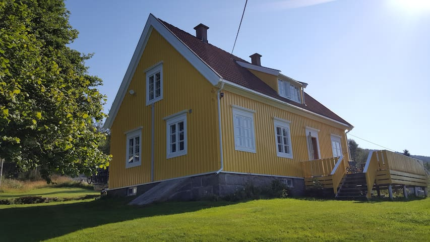 Det Gule Huset (the yellow house)