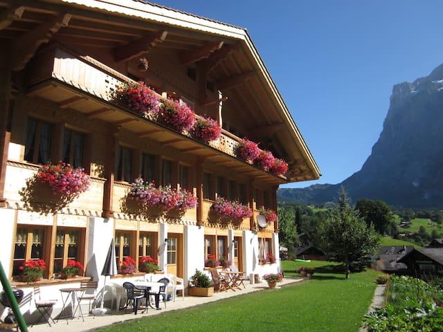 Zimmer mit Frühstück, BERGSICHT - Grindelwald